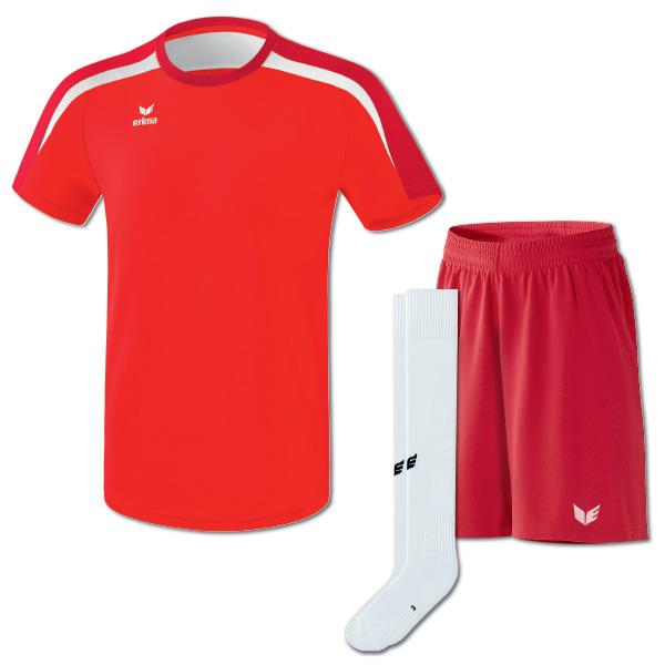 Liga v2 Tshirt rödvit