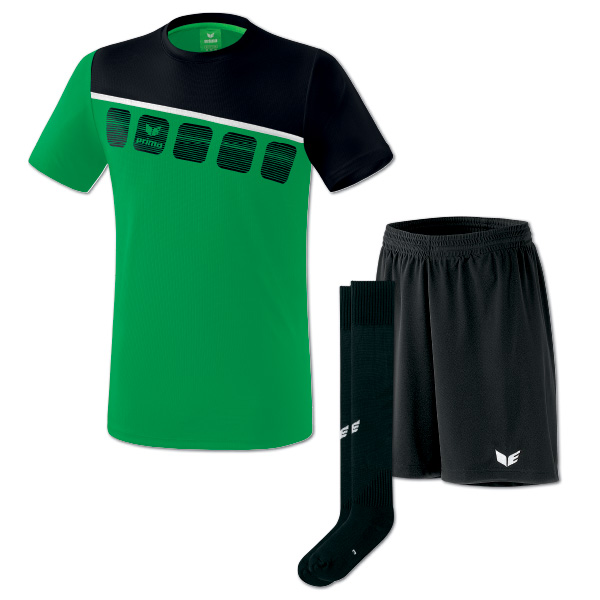 5-C tshirt smaragdsvart